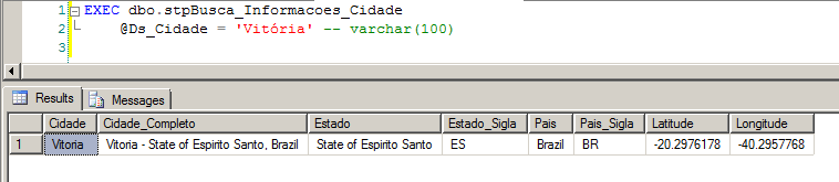 SQL Server - OLE Automation - Google Maps API