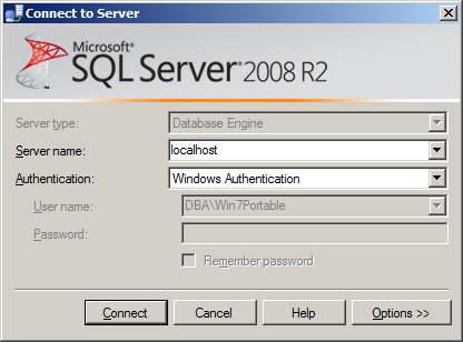 SQL Server - Local Connection Local Connection