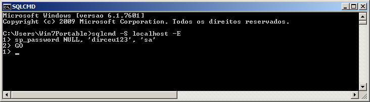 SQL Server - Reset SA Password