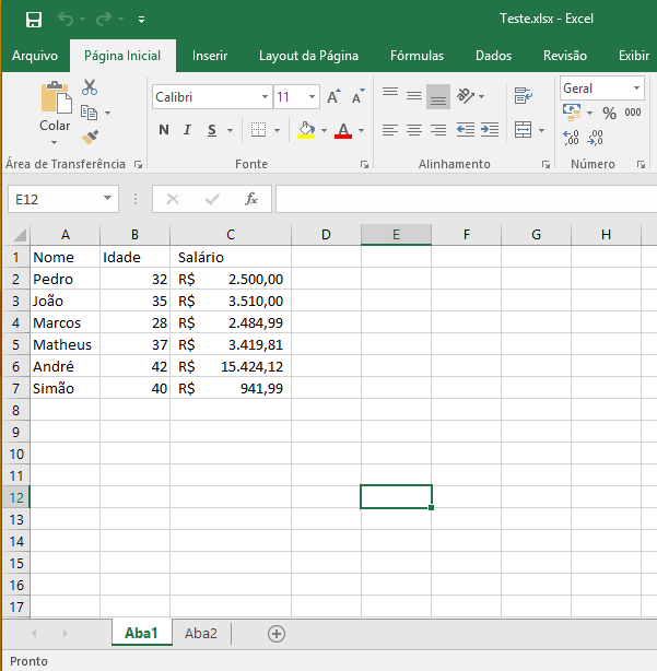 SQL Server - How to import data from Excel datasheet to database - Example1