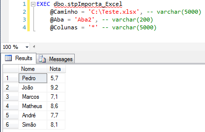 SQL Server - How to import data from Excel datasheet to database - Import2